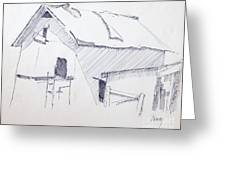 Barn 3 Greeting Card by Rod Ismay