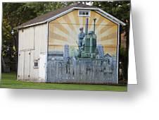 Barn Art Greeting Card