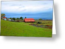 Barn In Livermore Greeting Card
