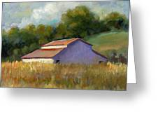 Barn On Lakeville Highway Greeting Card