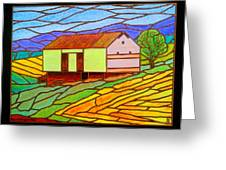 Barn On Springhill Road Greeting Card