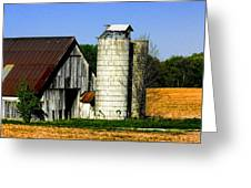 Barn Out Back Greeting Card