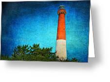 Barnegat Light Greeting Card by Pat Abbott
