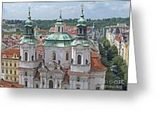 Baroque Beauty Greeting Card