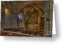 Baroque Church In Savoire France 3 Greeting Card
