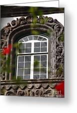 Baroque Style Window Greeting Card