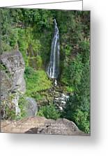 Barr Creek Falls Greeting Card