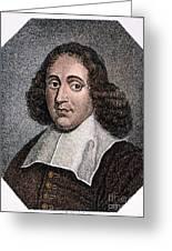 Baruch Spinoza (1632-1677) Greeting Card