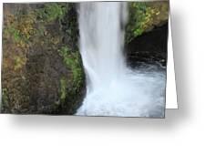 Base Of The Falls Greeting Card