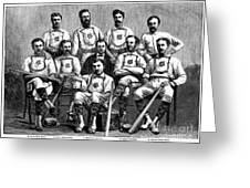 Baseball: Canada, 1874 Greeting Card by Granger