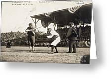 Baseball Game, 1909 Greeting Card by Granger