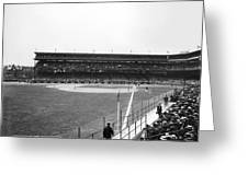 Baseball Game, C1912 Greeting Card
