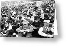 Baseball: Playoff, 1908 Greeting Card