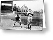 Baseball: Princeton, 1901 Greeting Card