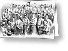 Baseball Teams, 1866 Greeting Card by Granger