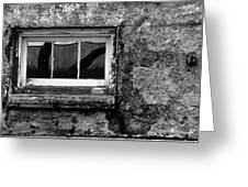 Basement Window Greeting Card