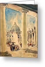 Basilica In Italy Greeting Card