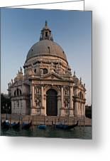 Basilica Of Santa Maria Della Salute Venice Greeting Card
