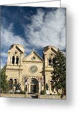 Basilica Of St Francis Greeting Card