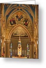 Basilica Of The Sacred Heart Greeting Card