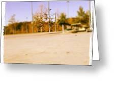 #basketball 🏀❤ Gonna Shoot Around Greeting Card by Nena Alvarez