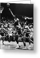 Basketball Game, 1966 Greeting Card