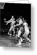 Basketball Game, C1960 Greeting Card