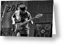 Bass Jazz Greeting Card