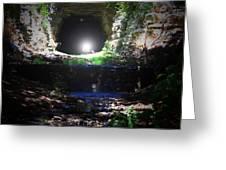 Bat Cave Greeting Card