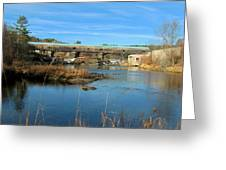 Bath Covered Bridge Greeting Card