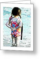 Bathing Beauty Greeting Card