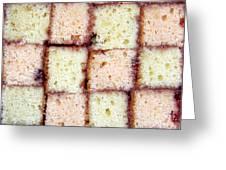 Battenburg Cake Greeting Card
