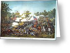 Battle Of Atlanta, 1864 Greeting Card