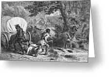 Battle Of Bloody Brook 1675 Greeting Card