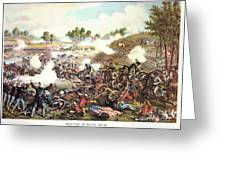 Battle Of Bull Run, 1861 Greeting Card