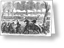 Battle Of Chickamauga 1863 Greeting Card