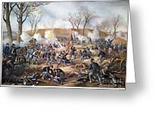 Battle Of Fort Donelson Greeting Card