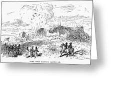 Battle Of Fort Erie, 1814 Greeting Card