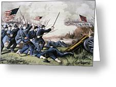 Battle Of Jonesboro, 1864 Greeting Card