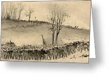 Battle Of Kernstown, 1862 Greeting Card