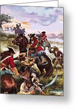 Battle Of Sedgemoor Greeting Card
