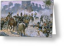 Battle Of Solferino And San Martino Greeting Card