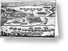 Battle Of Steinau, 1633 Greeting Card