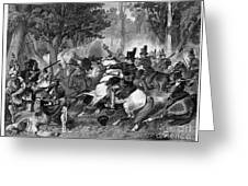 Battle Of The Thames Greeting Card