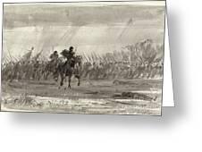 Battle Of Williamsburg Greeting Card