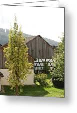 Bavarian Barn Greeting Card