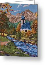 Bavarian Country Greeting Card