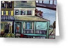 Bayard House In Chesapeake City Greeting Card by Carol Mangano