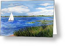 Bayville Marsh Greeting Card