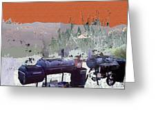 Bbq Smokers Arizona Greeting Card